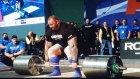 Hafthor Bjornsson 472 Kilo Kaldırarak Rekor Kırdı