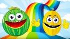 Çocuklar Meyveleri Öğreniyor - Okul Öncesi Çocuklar İçin Meyveler - Meyve Şarkıları