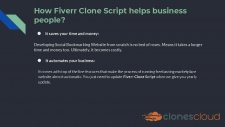 Fiverr Clone Script For Freelance Marketplace Platform