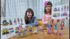Ahşap Puzzle Boyama Challenge Elif Lera Yarışıyorlar, Eğlenceli Çocuk Videosu, Toys Unboxing