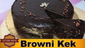 Browni Kek Tarifi (Islak Kek)   Çikolatalı Browni Kek Nasıl Yapılır ?