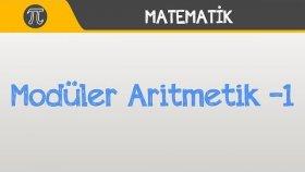 Modüler Aritmetik -1