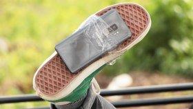 Samsung Galaxy S9+ Sağlamlık Testi (Ayakkabının Altına Bantlayıp Yürüdük!)