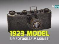12 Milyon Liraya Satılan 95 Yıllık Fotoğraf Makinesi