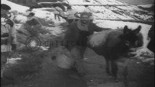 1948 Yılında Kayak Takımıyla Kimlik Kontrolü Yapan Türk Askeri