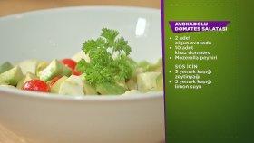 Avokadolu Domates Salatası
