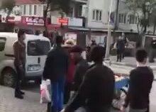 Bursa'da Suriyeli Kavgası
