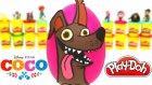 Coco Filmi Dante Sürpriz Yumurta Oyun Hamuru Coco Oyuncakları
