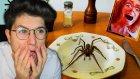Kahvaltıda Örümcek Yiyen Adam !