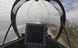 Şehir Merkezinde Aşırı Alçaktan Uçan Jet Pilotu