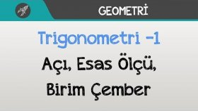 Trigonometri -1 (Açı, Esas Ölçü, Birim Çember)