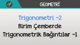 Trigonometri -2 (Birim Çemberde Trigonometrik Bağıntılar) -1