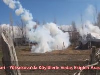Hakkari'de Elektrik Sayacı Gerginliği