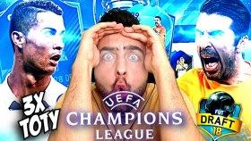 Şampıyonlar Lıgı Çeyrek Fınal Challenge ! Fut Draft !