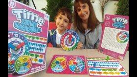 Elif Zamanları Öğreniyor. Günler Aylar Mevsimler, Eğlenceli Çocuk Videosu, Oyuncak, Toys Unboxing