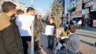 Polislerden Mültecilere Atatürk Uyarısı: Atatürk Bizde Yere Koyulmaz