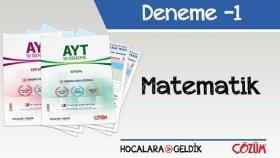 10'lu AYT Denemesi -1 / Matematik