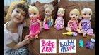 Baby Alive Challenge, Elifin Tüm Baby Alive Bebekleri Yarışıyor.eğlenceli Çocuk, Toys Unboxing