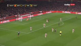 Hakan Çalhanoğlu'nun Arsenal'e Attığı Gol (Arsenal 3-1 Milan)