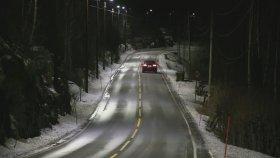 Sensörlü Sokak Lambaları - Norveç