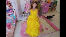 Elife Prenses Bella Kostümü. Disney Princess Belle