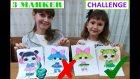 3 Marker Challenge, Lol Sürpriz Bebekler İle, With Lol Suprıse