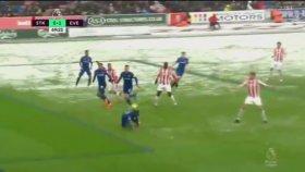 Cenk Tosun'un Stoke City'e Attığı Gol (Stoke City 1-1 Everton)