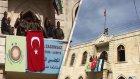 Afrin'e Şanlı Türk Bayrağı Dikildi