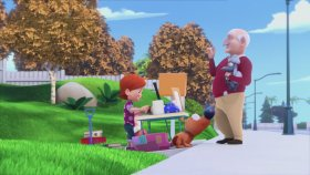 Cesur Köpek Pat - Bahçe Satışı (Çizgi Film)