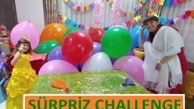 Dev Balonlar İçinde Sürpriz Challenge,prenses Sofia, Poly Pocket, Kinder Joy Eğlenceli Çocuk Videosu
