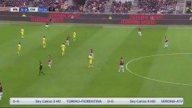 Hakan Çalhanoğlu'nun Chievo'ya Attığı Gol (Milan 1-0 Chievo)