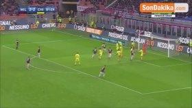 Hakan Çalhanoğlu'nun Gol Attığı Maçta Milan, Chievo'yu 3-2 Yendi
