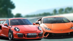 Porsche Vs Lamborghini - Gta 5 Online
