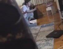 Tolga Ciğerci'nin Kaçırdığı Gol Sonrası Televizyonu Kıran Taraftar