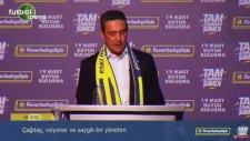 Ali Koç hayalindeki Fenerbahçe'yi anlattı