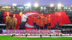 Başakşehir'in Tepki Çeken Çanakkale Zaferi Koreografisi