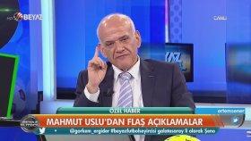 """Mahmut Uslu'dan Fatih Terim'e """" Kaldırsana Adamlarını Yerden"""""""