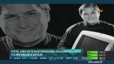 Steve Jobs'un İş Başvuru Formu 174 Bin Dolara Satıldı