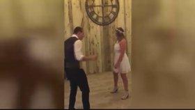 Kick Boks'a Dönüşen Düğün Dansı