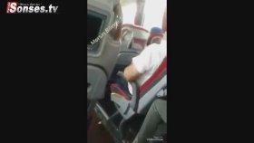 Otobüs Şoförünün Kadın Yolcuyu Taciz Anı