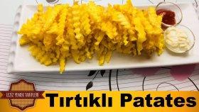 Tırtıklı Patates Kızartması Tarifi