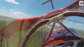 Havada Motoru Duran Uçağın Son Anda Çakılmaktan Kurtulduğu Anlar