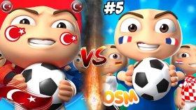 Heyecan Dolu Lıderlık Maçları ! Osm Youtuber Dünya Kupası !