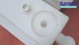 Plastik Yol Bariyeri Üreticisi - Su Doldurulabilir - Karmod