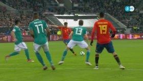 Almanya 1-1 İspanya (Maç Özeti - 23 Mart 2018)