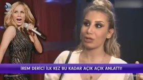 İrem Derici'nin Sertab Erener'in Konserini Memleketi Terk Edicek Kadar Güzel Bulması