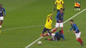 Kolombiya, Fransa karşısında 2-0'dan geri döndü, galibiyete koştu!