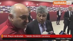Milli Maçın Ardından - Teknik Direktör Lucescu