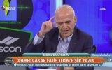 Ahmet Çakar'ın Fatih Terim'e Şiir Yazması  Karton İmparator