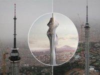 Çamlıca Kulesi'nin Havadan Görüntülenmesi